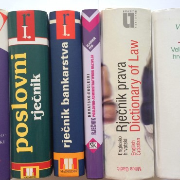 Image of Croatian translation books